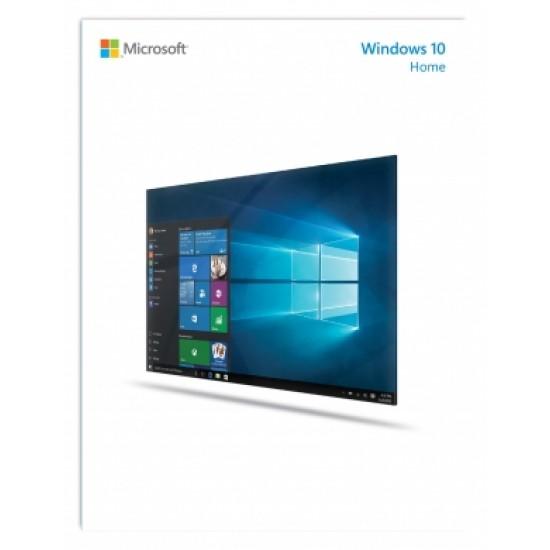 Microsoft WIN HOME 10 32-bit/64-bit All Lng PK Lic Online DwnLd NR KW9-00265