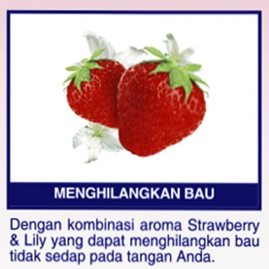 SOS Hand Soap Fragrance Anti Bacterial - Strawberry Floral 4L