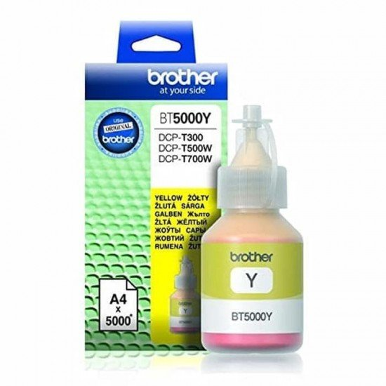 BROTHER Yellow Refill Tank BT-5000Y
