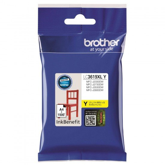BROTHER Yellow Ink Cartridge LC-3619XLY
