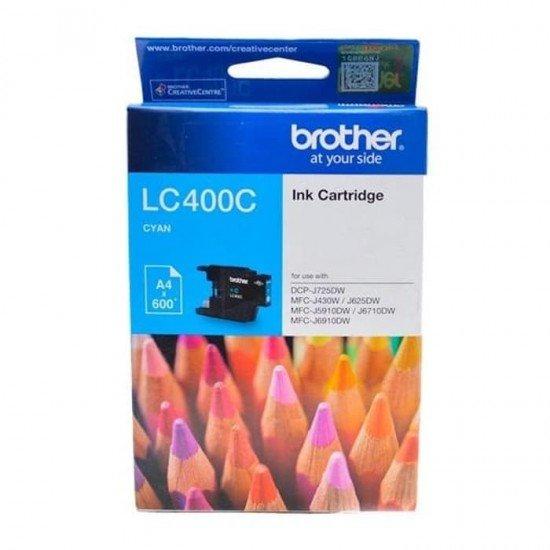 BROTHER Cyan Ink Cartridge LC-400C