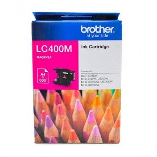 BROTHER Magenta Ink Cartridge LC-400CM