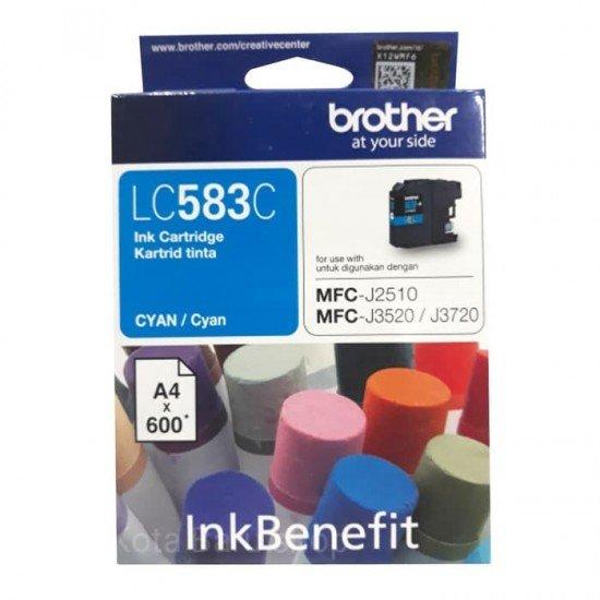BROTHER Cyan Ink Cartridge LC-583C
