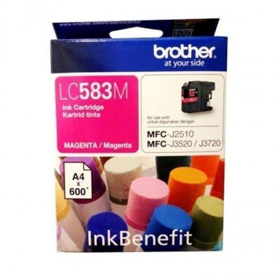 BROTHER Magenta Ink Cartridge LC-583M