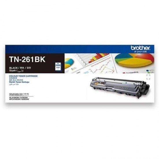 BROTHER Black Toner Cartridge TN-261BK