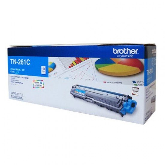 BROTHER Cyan Toner Cartridge TN-261C