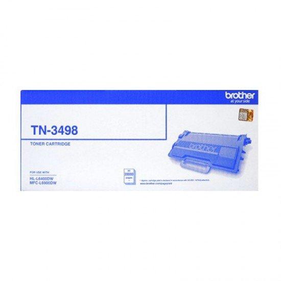 BROTHER Mono Laser Toner TN-3498
