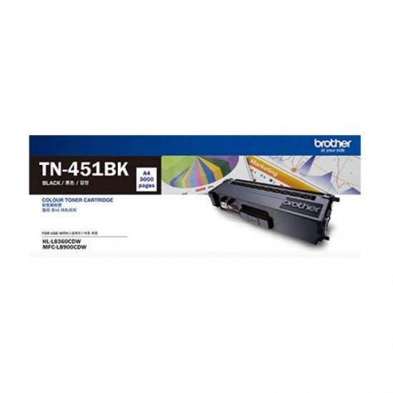 BROTHER Black Toner Cartridge TN-451BK