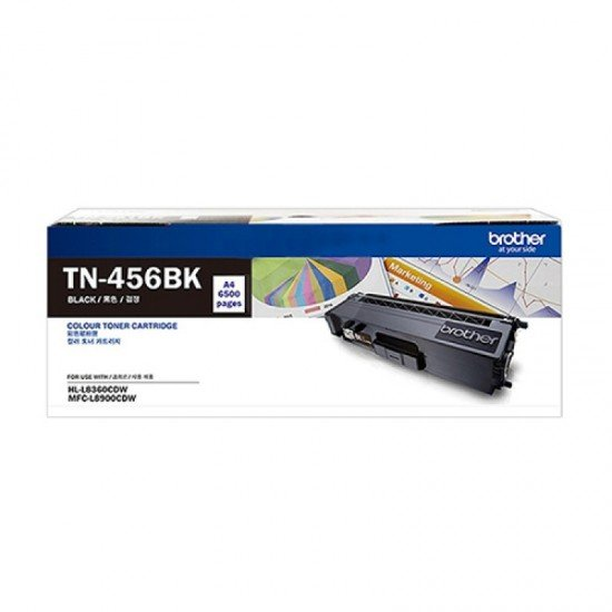 BROTHER Black Toner Cartridge TN-456BK