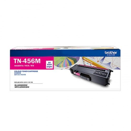 BROTHER Magenta Toner Cartridge TN-456M