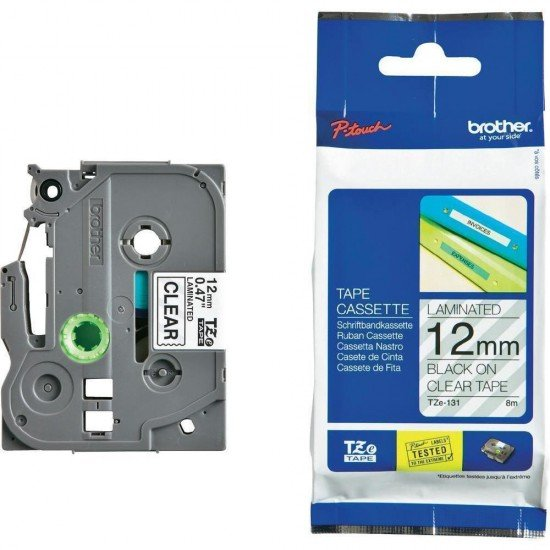 BROTHER Color Tapes 12mm TZE-131