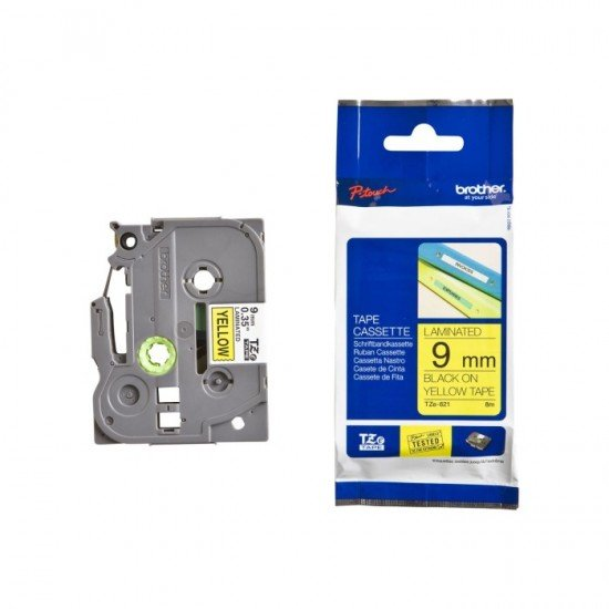 BROTHER Color Tapes 9mm TZE-621