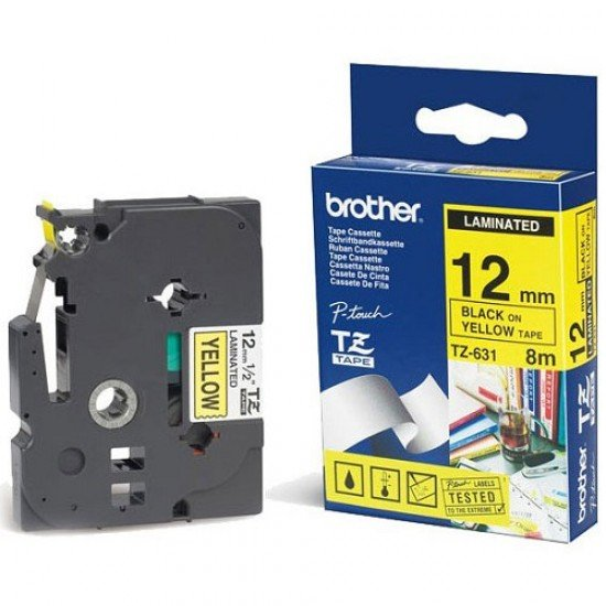 BROTHER Color Tapes 12mm TZE-631