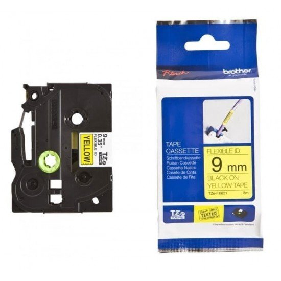 BROTHER Color Tapes 9mm TZE-FX621