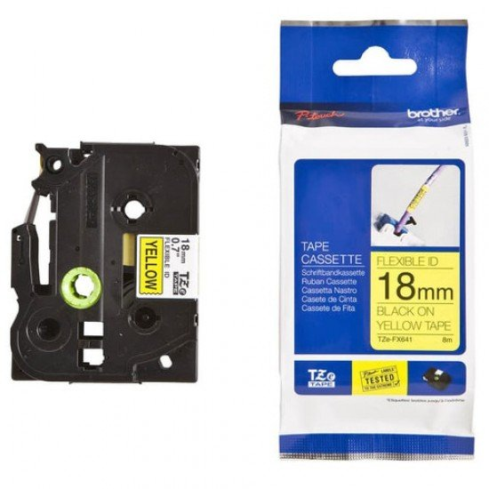 BROTHER Color Tapes 18mm TZE-FX641