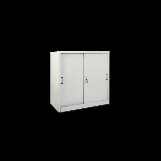 DATAFILE Lemari Arsip Setengah Tinggi Pintu Geser Standard Standard Lux Tebal 0,8mm
