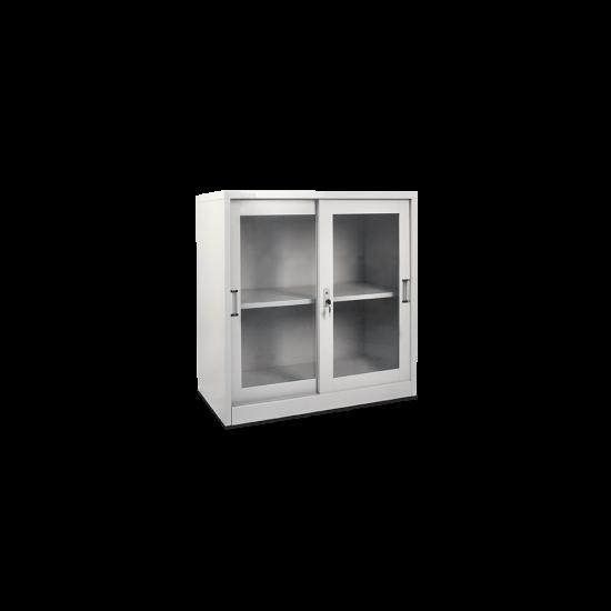 DATAFILE Lemari Arsip Setengah Tinggi Pintu Kaca Geser Standard Tebal 0,7mm