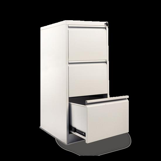 DATAFILE Filing Cabinet 3 Laci Standard (Warna Abu-abu) tebal 0,7mm