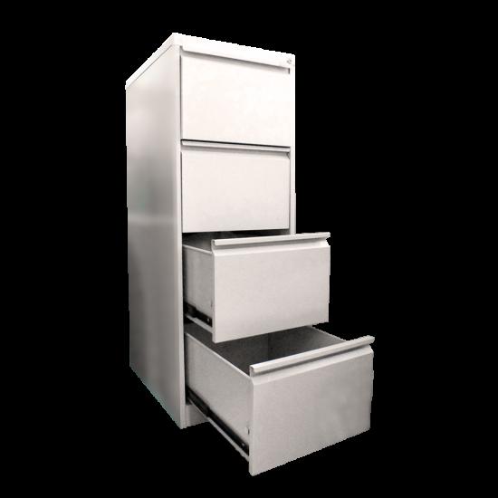 DATAFILE Filing Cabinet 4 Laci Superior (Warna Abu-abu) Uk. p x l x t= 485 x 675 x 1331 mm tebal 1,2mm
