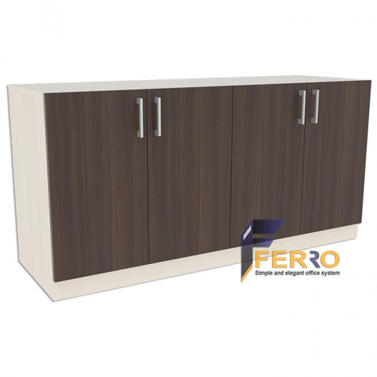 FERRO LEMARI CRD 03 Uk. 1500 x 500 x 850 mm Lapis HPL