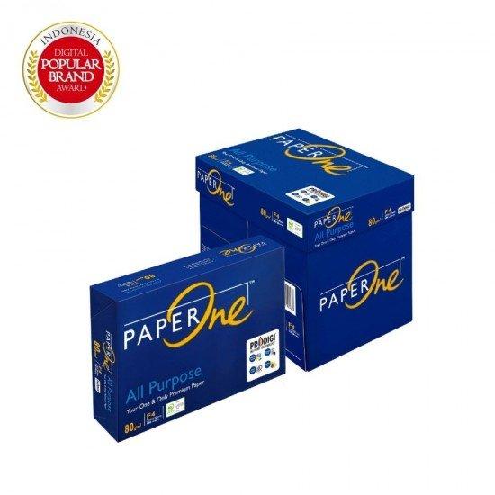 PaperOne Kertas HVS Fotocopy 80g F4 - Box